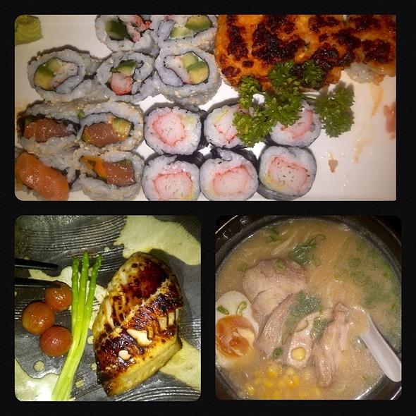 Sushi, Miso Black Cod & Miso Ramen