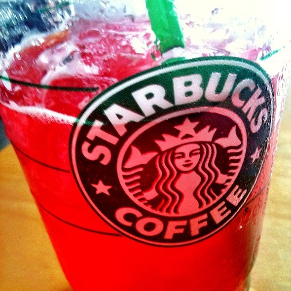 Iced Tazo Passion Tea Lemonade @ Starbucks