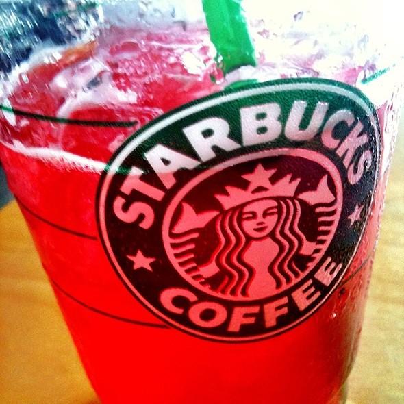 Iced Tazo Passion Tea Lemonade @ Starbucks