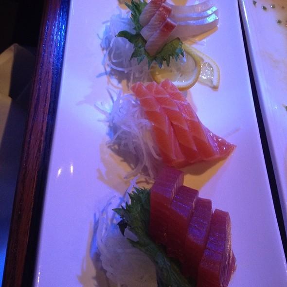 Yellowtail, Salmon, And Tuna Sashimi @ Osaka Pa