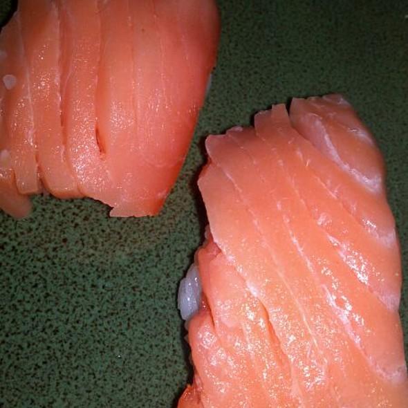 Sake (Salmon) Nigiri @ Shogun Peking Palace