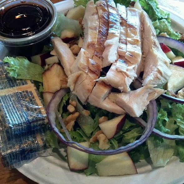 Apple Chicken Salad @ The Coffee Cup