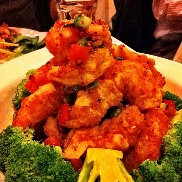Wok Tossed Prawn With Pepper & Salt @ Szechuan Gourmet