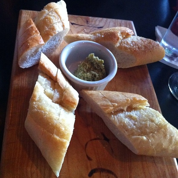 Sourdough Bread w/ EVOO, Olive Tapenade