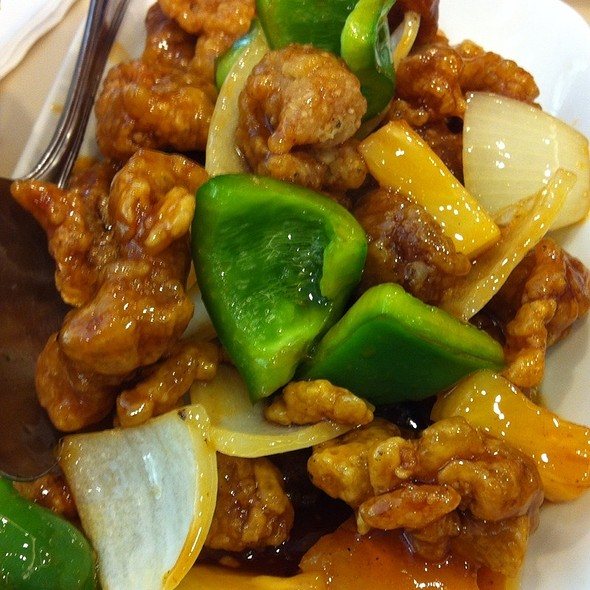 sweet and sour pork @ Eat Well Delicious Kitchen