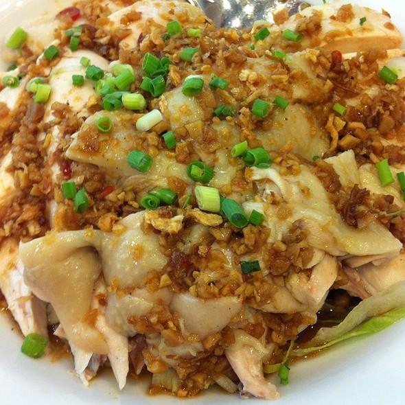 Steamed Chicken With Ginger Sauce @ Eat Well Delicious Kitchen