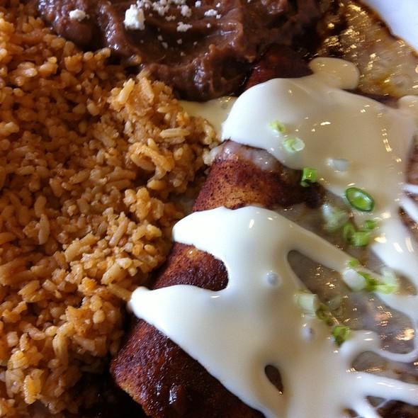 Carnitas Enchilada @ Orale! Taqueria Mexicana