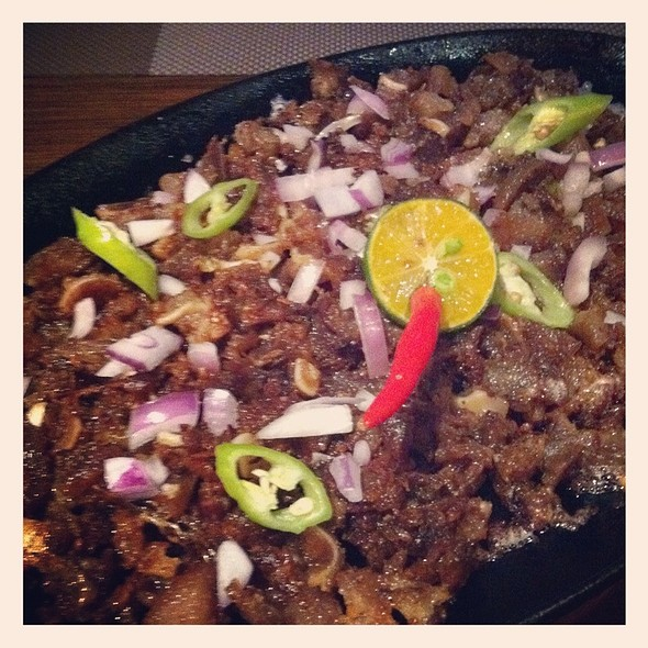 Pork Sisig @ No. 38 Sports Lounge & Grill