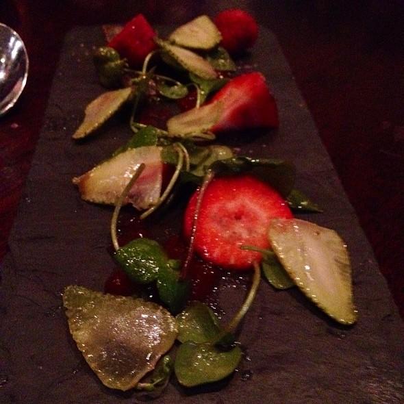 Spring Strawberry Salad @ Park Tavern