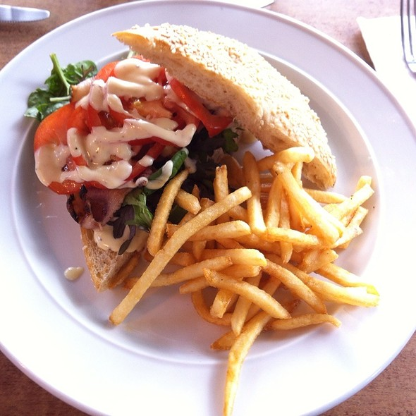 Blt W/ Fries @ Verve Cafe