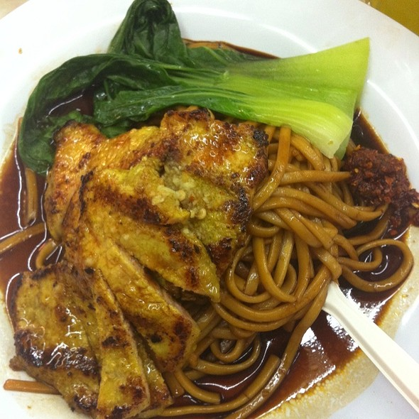 Grilled Pork Chop With Noodle  @ Restaurant Le Kwang