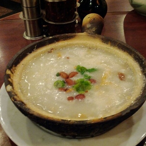 Century Egg Congee @ Congee Village