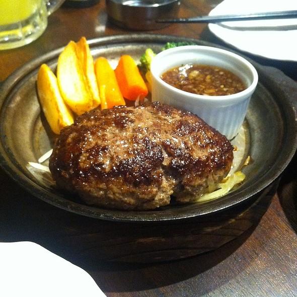 ハンバーグ @ 肉の楽園