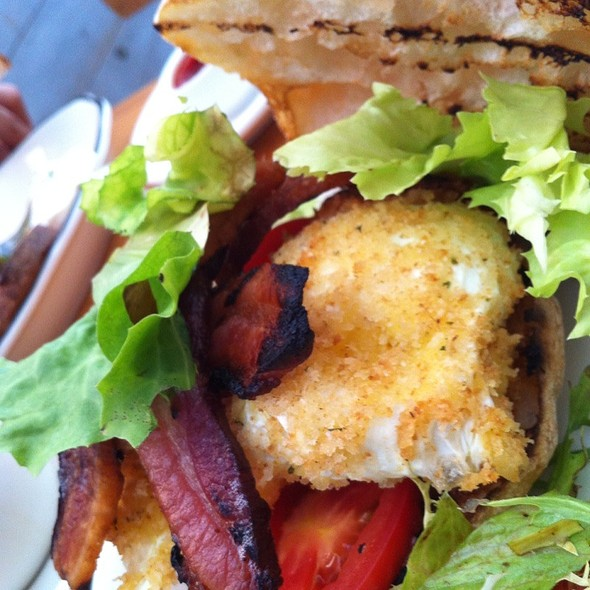 BLT with a Fried Egg - The General Greene, Brooklyn, NY