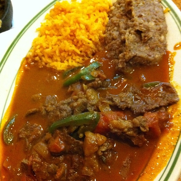 Bistec A La Mexicana @ Nuevo Leon Restaurant