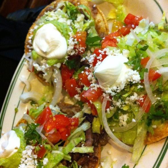 Tostada @ Nuevo Leon Restaurant