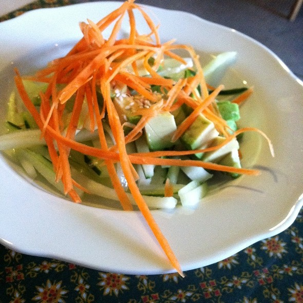 Cucumber Avacado Salad