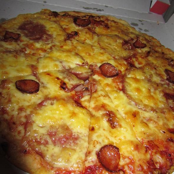 Garlic Pizza @ Pizzerie Pepíno