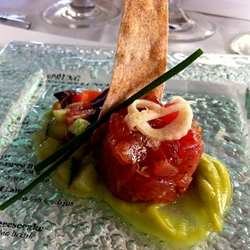 Ahi Tuna Tartare - Fairview Dining Room, Durham, NC