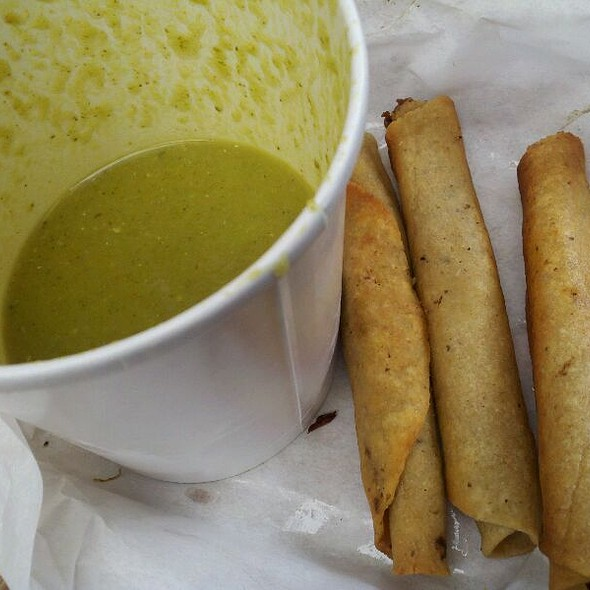Taquitos And Salsa