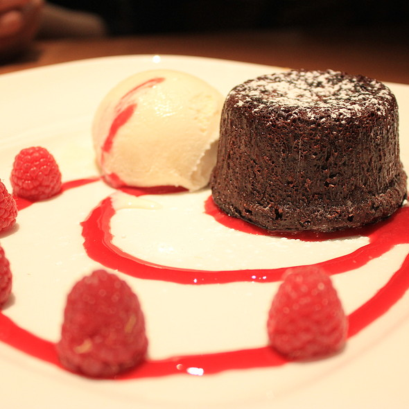 Chocolate Lava Cake @ Joey Don Mills Grill