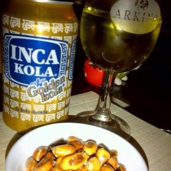 Inca Kola @ Lola's Restaurant Zurich
