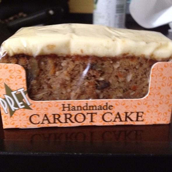 Pret A Manger Carrot Cake