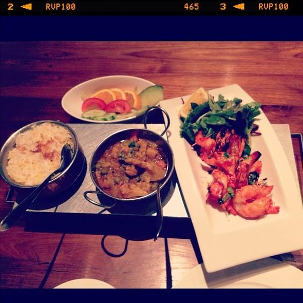 Tandoori Prawns @ Restaurant Shiva