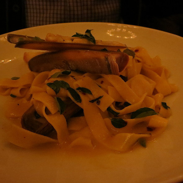 Razor Clams Pasta @ Alison Eighteen
