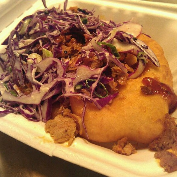 Pulled Pork Indian Taco @ Off The Rez Truck