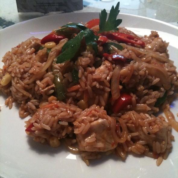 Malaysian Chilli Chicken  @ Rice Flame Bar & Grill