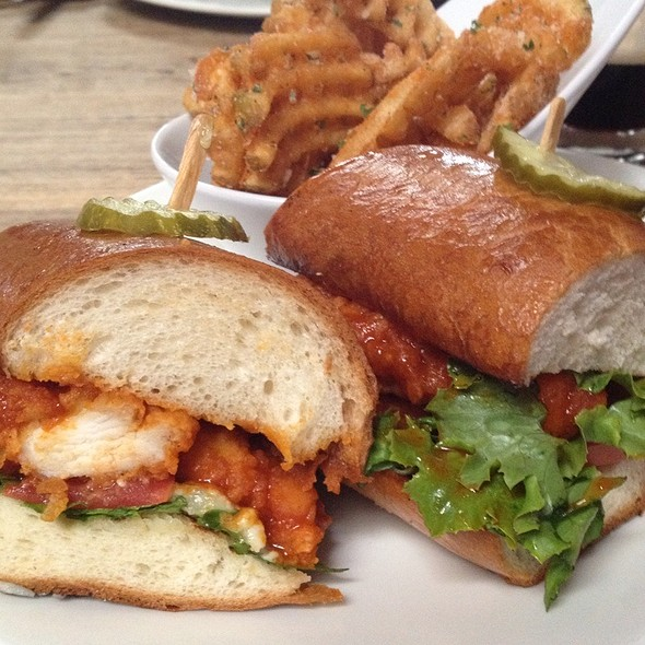 Buffalo Chicken Sandwich @ Old Pro Sports Bar