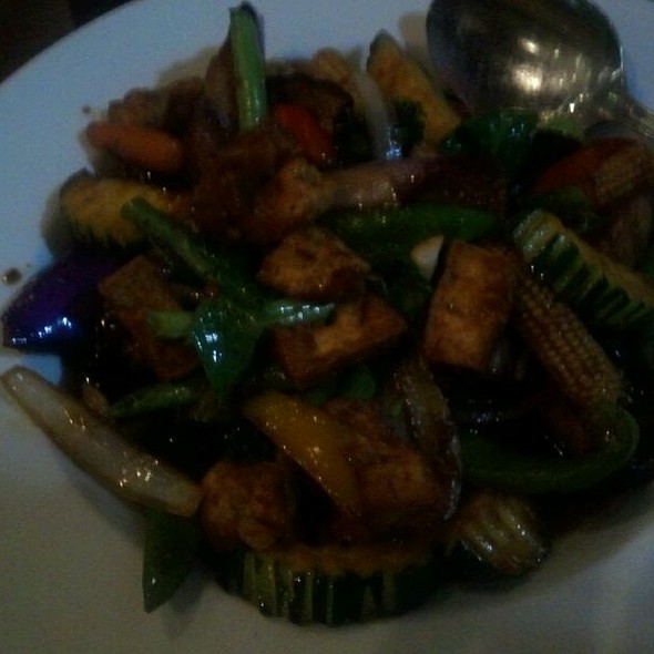 Stirred Fried Eggplant @ Lemongrass Bistro