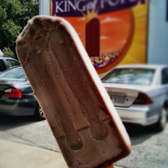 Mexican Chocolate Popsicle @ King of Pops