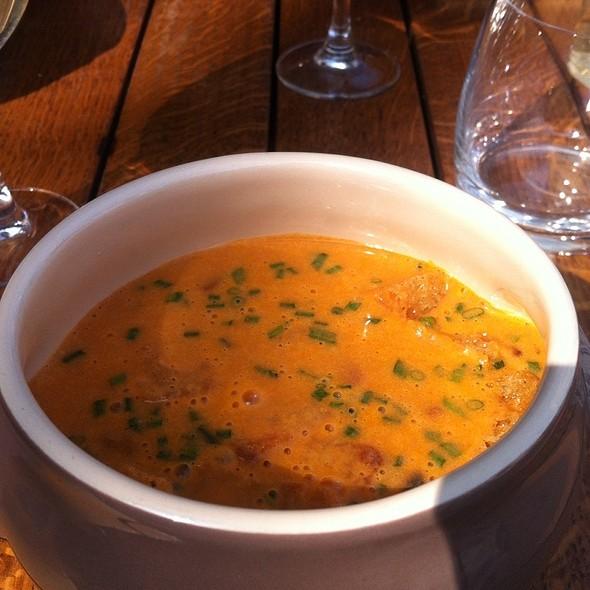 Soupe De Homard Au Chorizo
