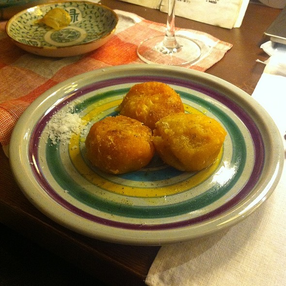 Deep Fried Cabocha Meat @ pisero