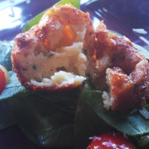 Bacon And Bleu Cheese Zeppoli @ PI Bar