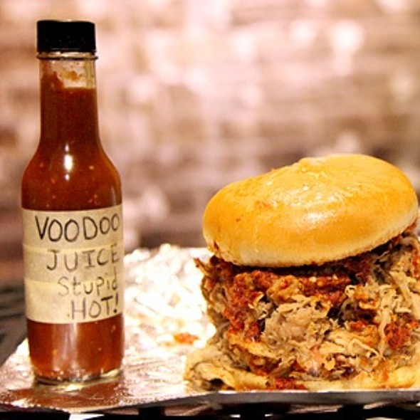 Voodoo Juice Challenge @ Angel's BBQ