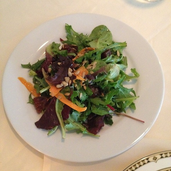 Mixed Baby Greens Salad - The Comus Inn at Sugarloaf Mountain, Dickerson, MD