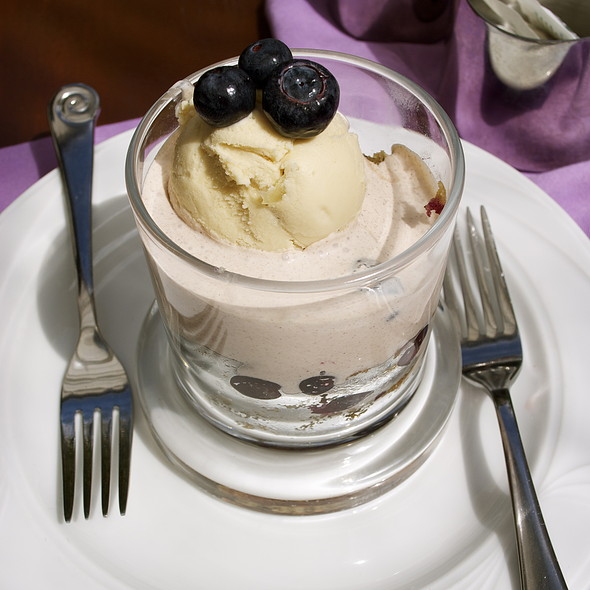 Bluberry Financier Cake @ Inn of the Seventh Ray