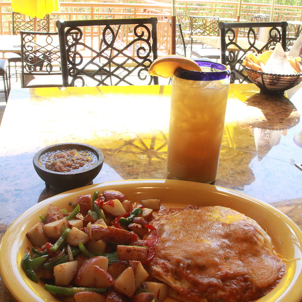 Huevos rancheros @ Amigo's Mexican Restaurant At Pala Casino Spa And Resort