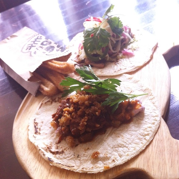Duck And Pork Carnitas (For The La Carnita Pop-Up) @La_Carnita @ Beast Restaurant