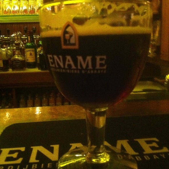 Ename Abbey Style Beer @ Bachus