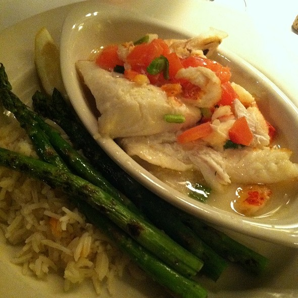 Broiled Haddock - The Library Restaurant, Portsmouth, NH