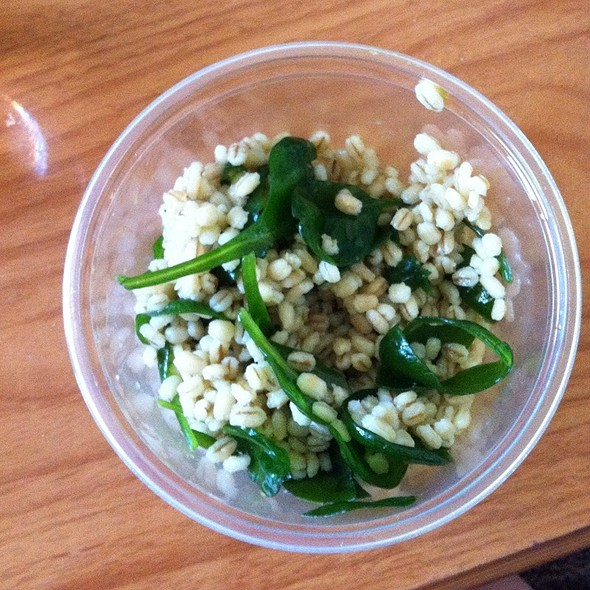 Barley Salad @ The Whole Ox Deli