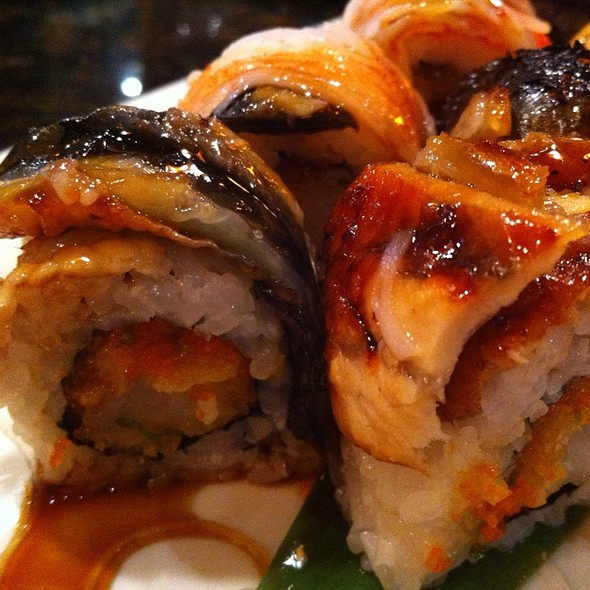 Lobster Crunch Roll @ Seito Sushi: Celebration