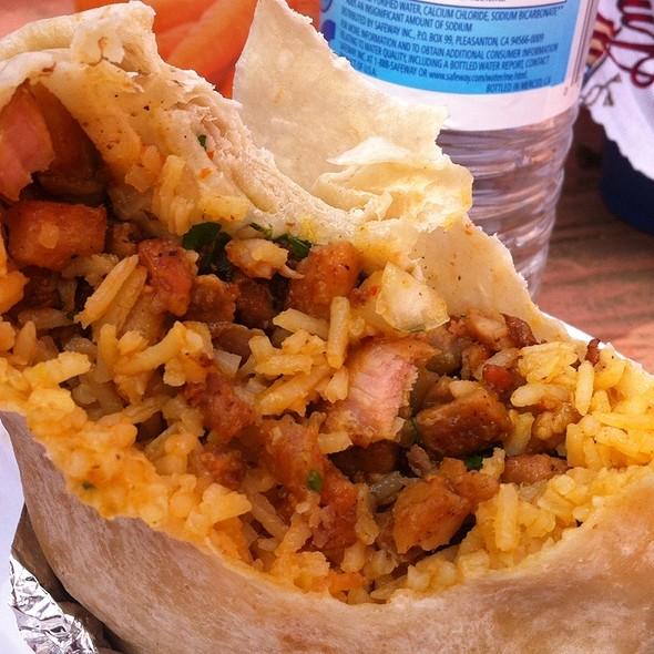 Chicken Burrito @ Tacos La Potranca De Jalisco