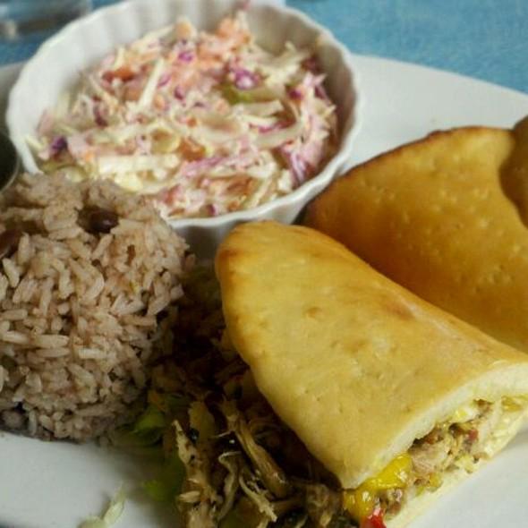 Jerk Chicken Sandwich @ Jambayz Island Grill