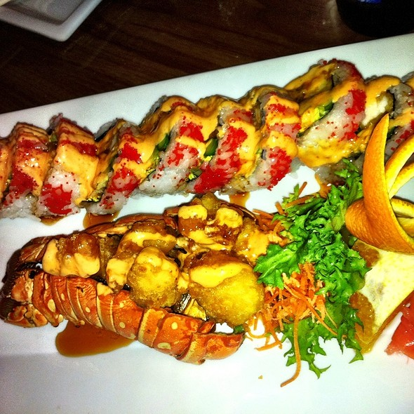 lobster roll @ Kampai Sushi Bar