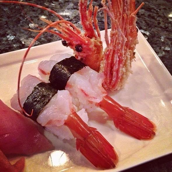Sweet Shrimp Sushi @ Osaka